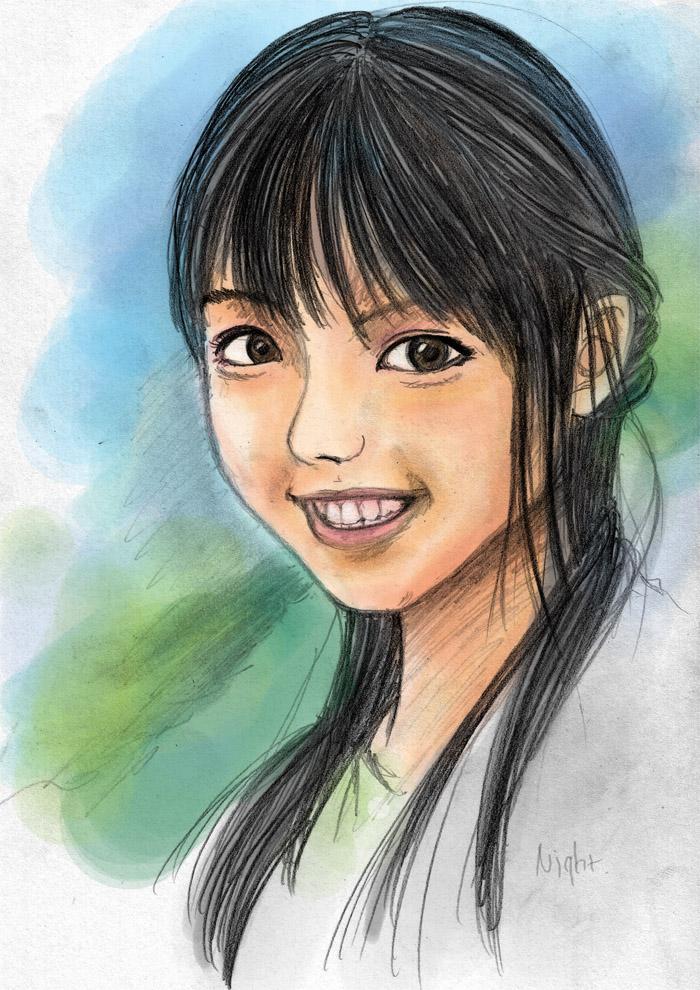 Mano Erina Sketch Colour